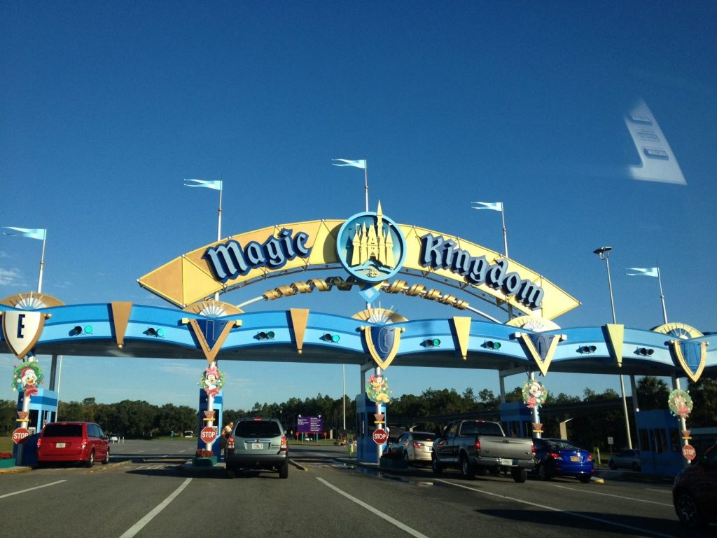 Parking at Walt Disney World
