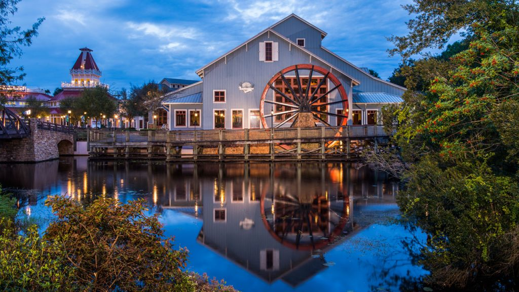 Disney Port Orleans Riverside Mill