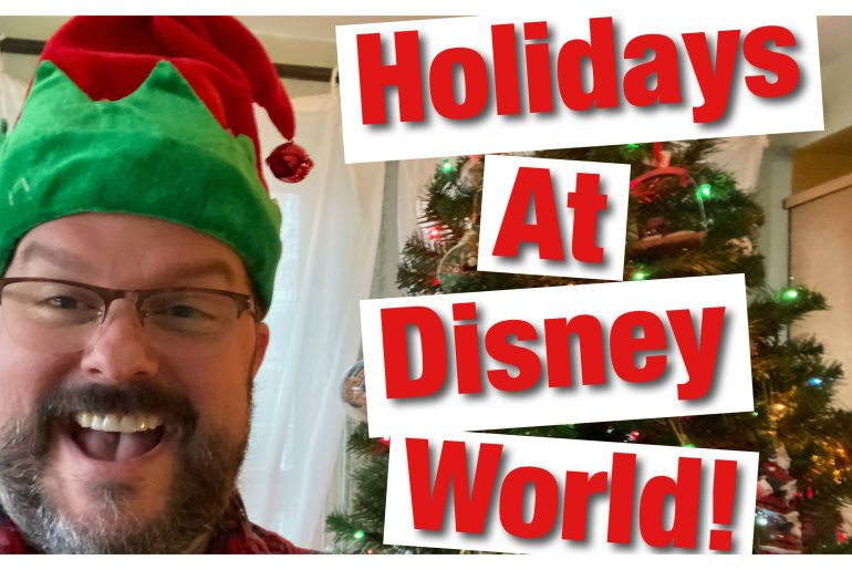 Celebrate the holidays at Walt Disney World