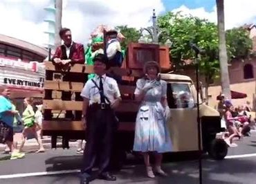 Disney Park Shows