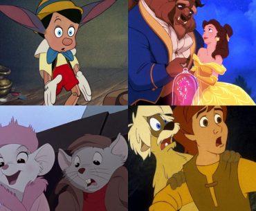 Top 5 Disney Animated Films